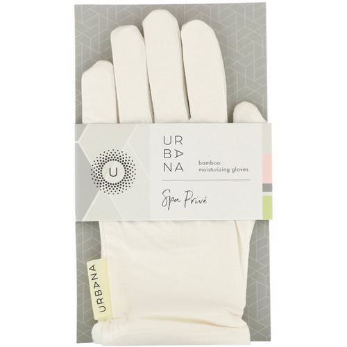 European Soaps, Urbana, Spa Prive, Bamboo Moisturizing Gloves, 1 Pair Review