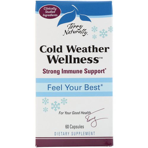 EuroPharma, Terry Naturally, Cold Weather Wellness, 60 Capsules Review