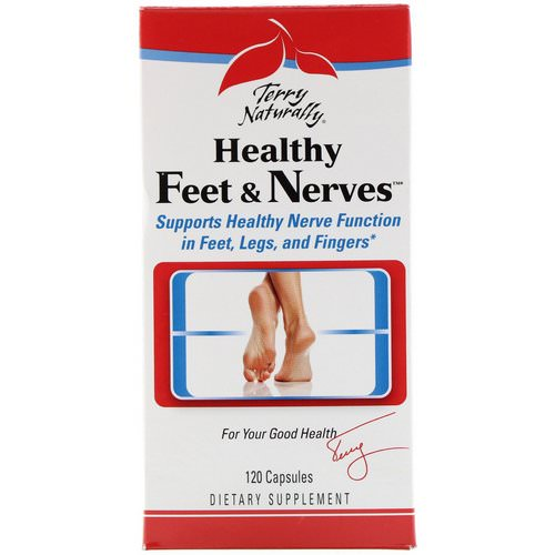 EuroPharma, Terry Naturally, Healthy Feet & Nerves, 120 Capsules Review
