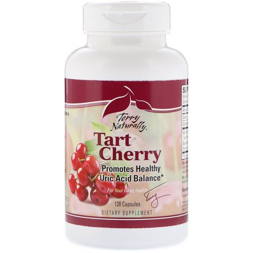 EuroPharma, Terry Naturally, Tart Cherry, 120 Capsules Review