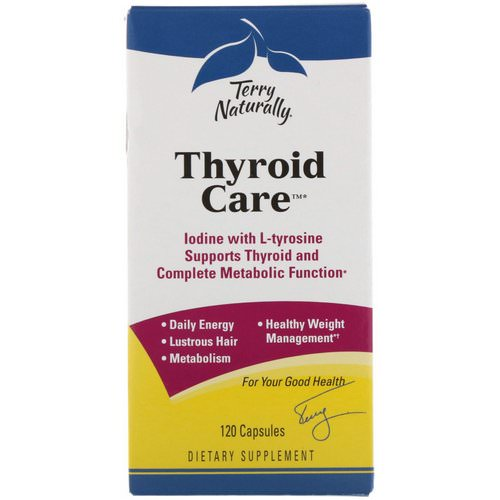 EuroPharma, Terry Naturally, Thyroid Care, 120 Capsules Review