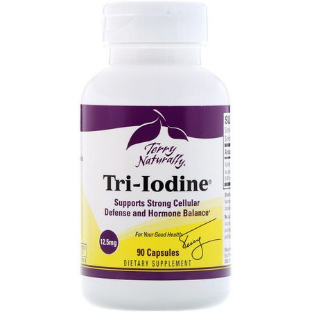 EuroPharma, Terry Naturally, Iodine