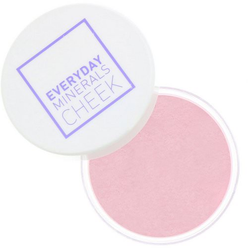 Everyday Minerals, Cheek Blush, Fresh Rose Blossom, .17 oz (4.8 g) Review