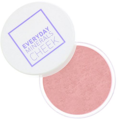 Everyday Minerals, Cheek Blush, Peony Petal, .17 oz (4.8 g) Review
