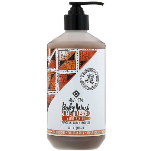 Everyday Shea, Body Wash, Vanilla Mint, 16 fl oz (475 ml) Review