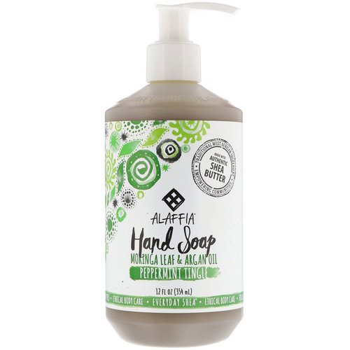 Alaffia, Everyday Shea, Hand Soap, Peppermint Tingle, 12 fl oz (354 ml) Review