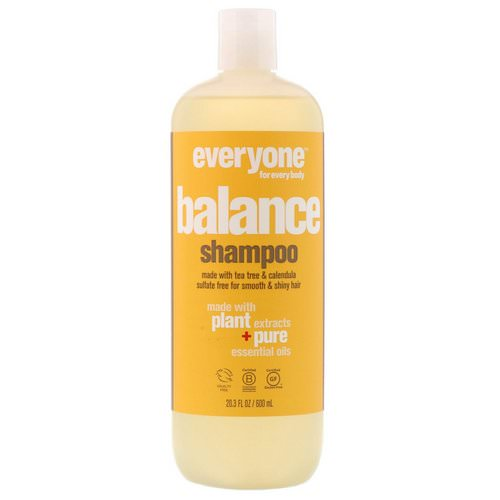 Everyone, Balance, Shampoo, Smooth & Shiny, 20.3 fl oz (600 ml) Review