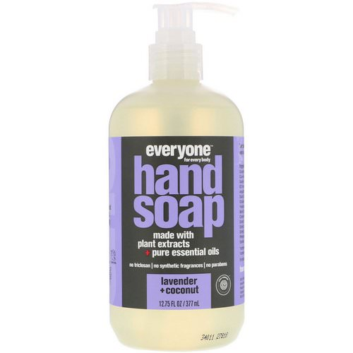 Everyone, Hand Soap, Lavender + Coconut, 12.75 fl oz (377 ml) Review