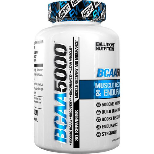 EVLution Nutrition, BCAA 5000, 240 Capsules Review