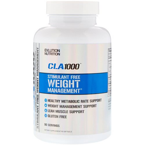 EVLution Nutrition, CLA 1000, 90 Softgels Review