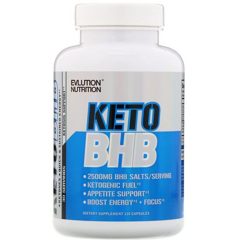 EVLution Nutrition, Keto BHB, 120 Capsules Review