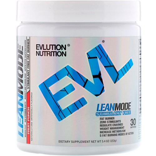 EVLution Nutrition, LeanMode, Fruit Punch, 5.4 oz (153 g) Review