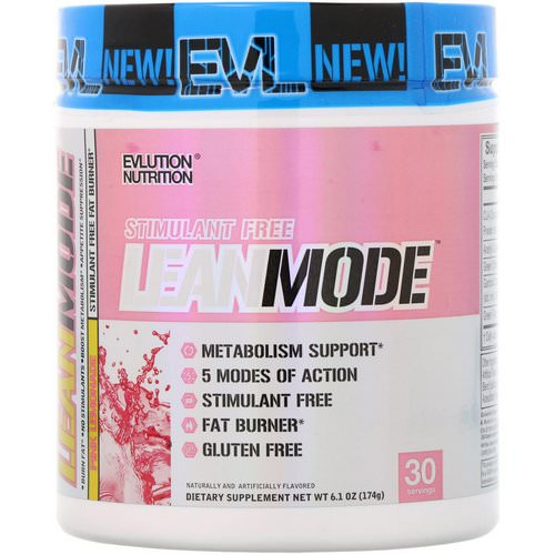 EVLution Nutrition, LeanMode, Pink Lemonade, 6.1 oz (174 g) Review