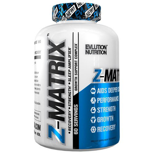 EVLution Nutrition, Z-Matrix, 120 Capsules Review