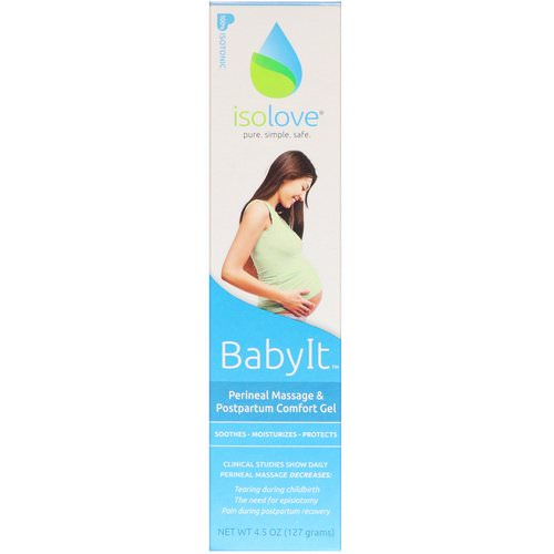 Fairhaven Health, BabyIt, Perineal Massage and Postpartum Comfort Gel, 4.5 oz (127 g) Review
