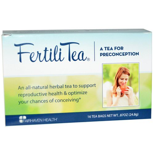 Fairhaven Health, FertiliTea for Women, 16 Tea Bags, .87 oz (24.8 g) Review