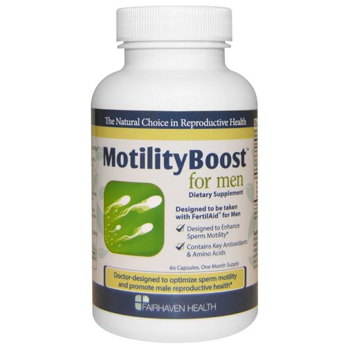 Fairhaven Health, MotilityBoost for Men, 60 Capsules Review