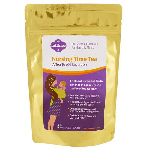Fairhaven Health, Nursing Time Tea, Lemon Flavor, 4 oz Review
