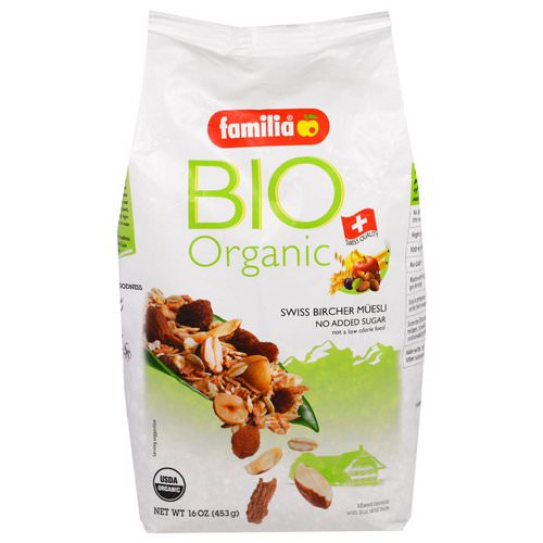 Familia, Bio Organic, Swiss Bircher Muesli, 16 oz (453 g) Review
