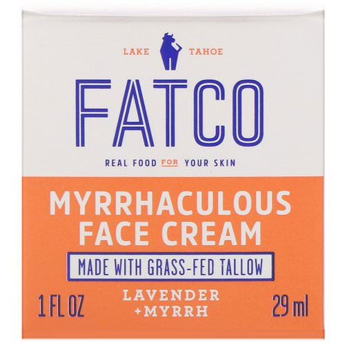 Fatco, Myrrhaculous Face Cream, Lavender + Myrrh, 1 fl oz (29 ml) Review