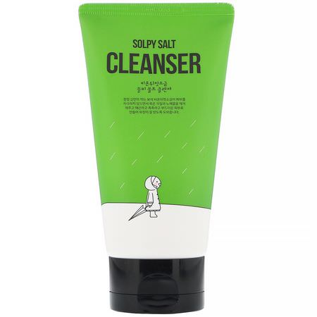 First Salt After The Rain, K-Beauty Cleanse, Tone, Scrub, Face Wash, Cleansers