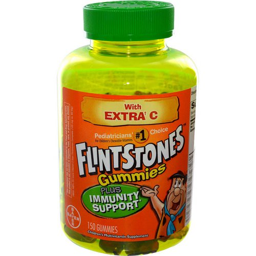 Flintstones, Children's Multivitamin, Plus Immune Support, 150 Gummies Review