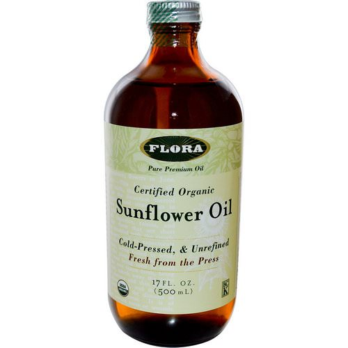 Flora, Certified Organic Sunflower Oil, 17 fl oz (500 ml) Review