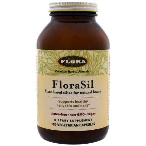 Flora, FloraSil, Plant Based Silica for Natural Beauty, 180 Veggie Caps Review