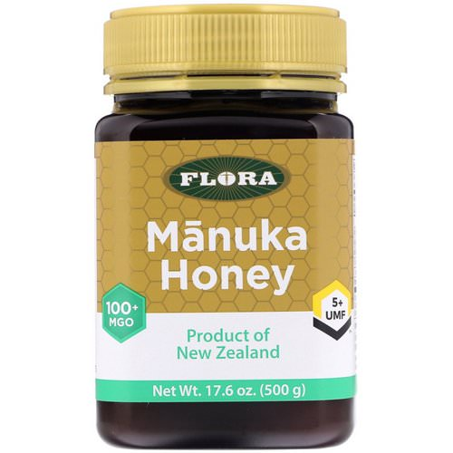 Flora, Manuka Honey, MGO 100+, 17.6 oz (500 g) Review