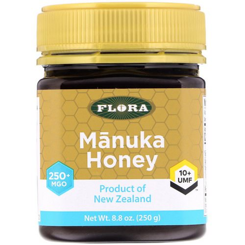 Flora, Manuka Honey, MGO 250+, 8.8 oz (250 g) Review