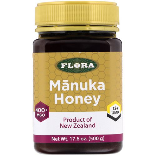 Flora, Manuka Honey, MGO 400+, 17.6 oz (500 g) Review