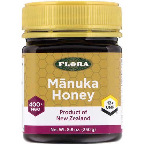 Flora, Manuka Honey, MGO 400+, 8.8 oz (250 g) Review