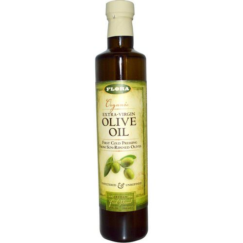 Flora, Organic Extra Virgin Olive Oil, 17 fl oz (500 ml) Review