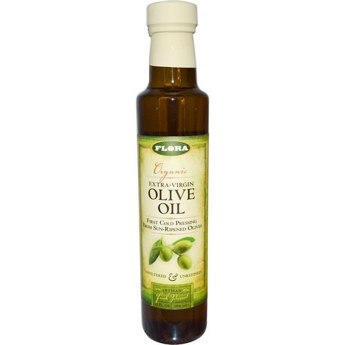 Flora, Organic Extra-Virgin Olive Oil, 8.5 fl oz (250 ml) Review