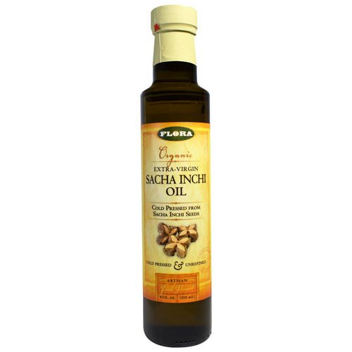 Flora, Organic Extra-Virgin Sacha Inchi Oil, 8.5 fl oz (250 ml) Review