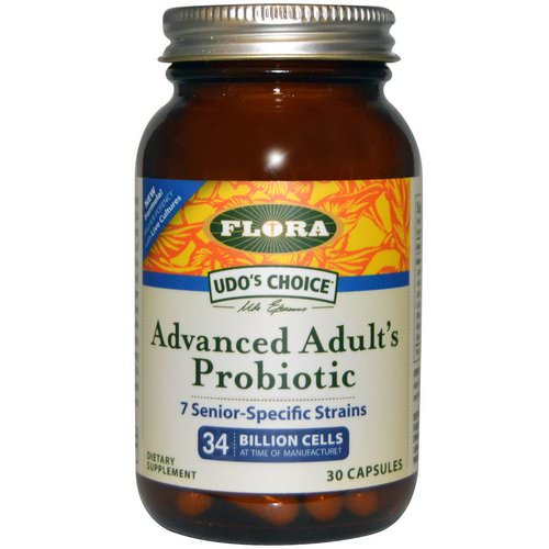 Flora, Udo's Choice, Advanced Adult's Probiotic, 30 Capsules Review