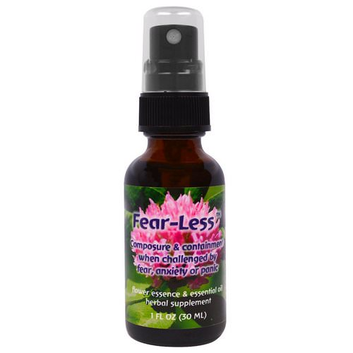 Flower Essence Services, Fear-Less, Flower Essence & Essential Oil, 1 fl oz (30 ml) Review