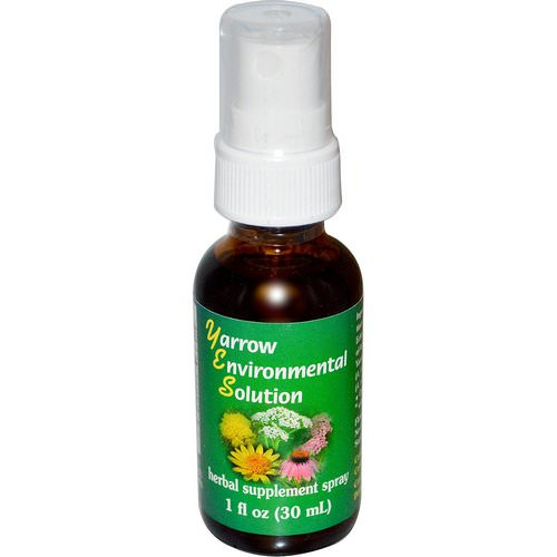 Flower Essence Services, Yarrow Environmental Solution Spray, 1 fl oz (30 ml) Review