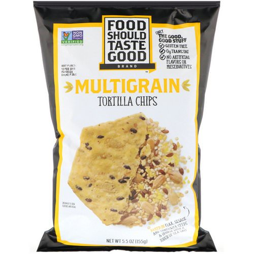 Food Should Taste Good, Multigrain Tortilla Chips, 5.5 oz (155 g) Review
