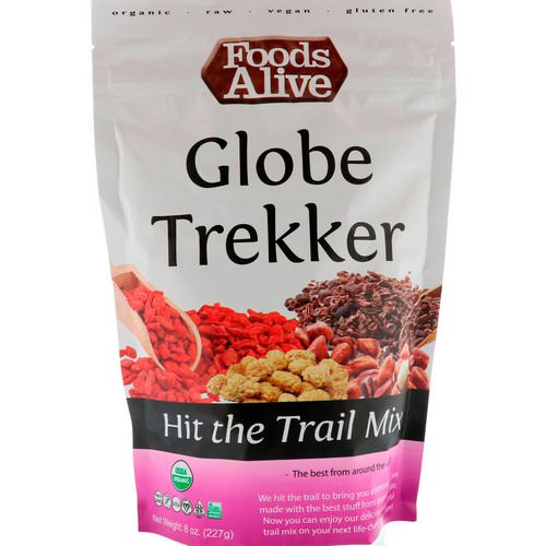 Foods Alive, Hit the Trail Mix, Globe Trekker, 8 oz (227 g) Review