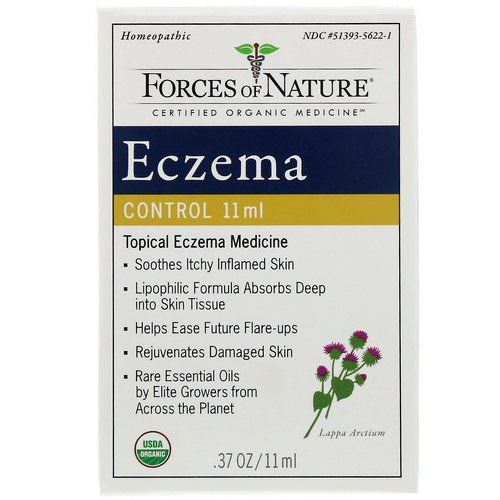 Forces of Nature, Eczema Control, 0.17 oz (5 ml) Review