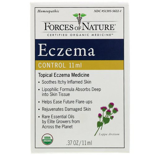Forces of Nature, Eczema Control, .37 oz (11 ml) Review