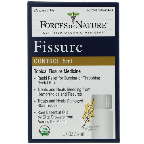 Forces of Nature, Fissure Control, .17 oz (5 ml) Review