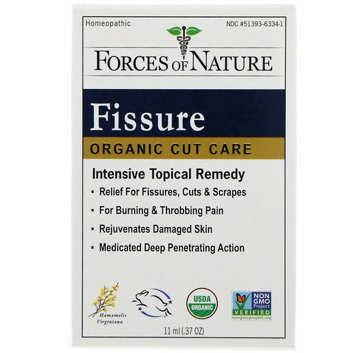 Forces of Nature, Fissure, Organic Cut Care, .37 oz (11 ml) Review