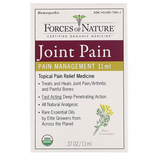 Forces of Nature, Joint Pain, Pain Management, 0.37 oz (11 ml) Review