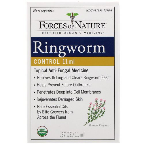 Forces of Nature, Ringworm Control, 0.37 oz (11 ml) Review
