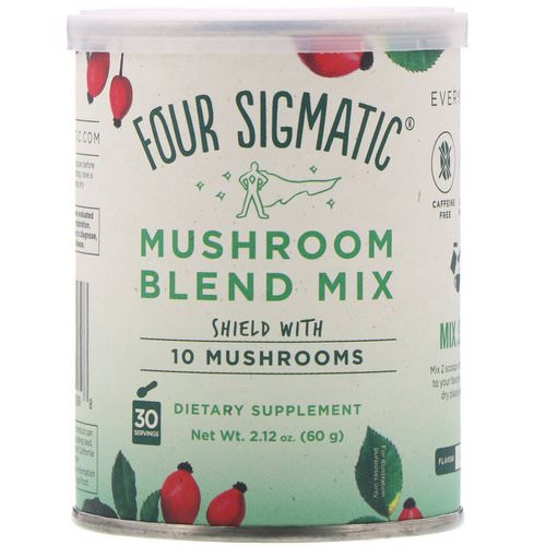 Four Sigmatic, Mushroom Blend Mix, 10 Mushrooms, 2.12 oz (60 g) Review