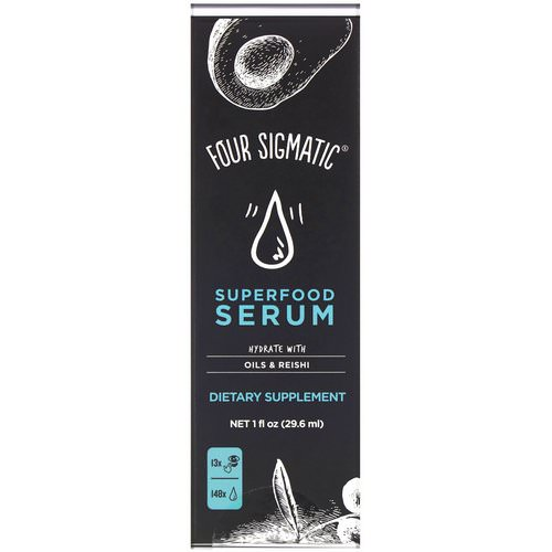 Four Sigmatic, Superfood Serum, Hydrate with Oils & Reishi, 1 fl oz (29.6 ml) Review