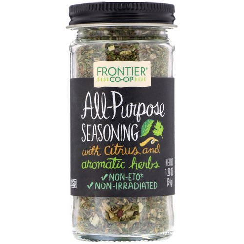 Frontier Natural Products, All-Purpose Seasoning, With Citrus and Aromatic Herbs, 1.20 oz (34 g) Review