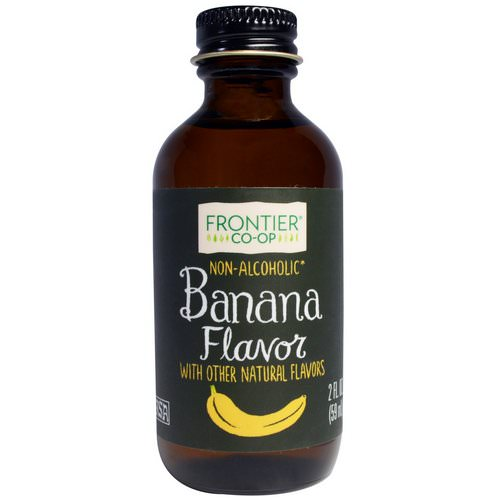 Frontier Natural Products, Banana Flavor, Non-Alcoholic, 2 fl oz (59 ml) Review